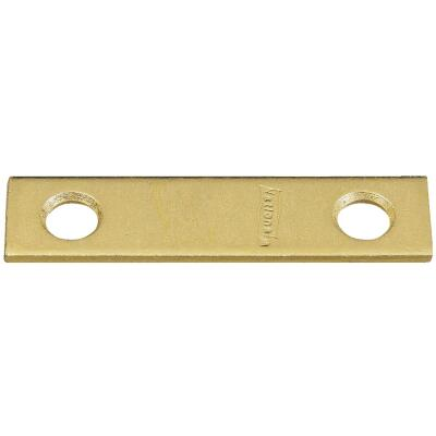National Catalog 118 2 In. x 1/2 In. Brass Steel Mending Brace (4-Count)
