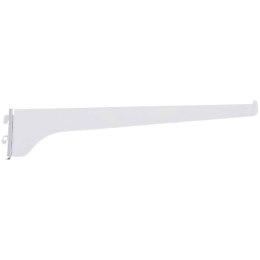 Knape & Vogt 180 Series 12 In. Titanium Steel Regular-Duty Single-Slot Shelf Bracket
