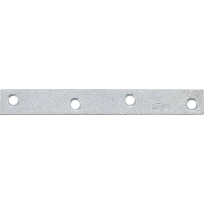National Catalog 118 6 In. x 3/4 In. Galvanized Steel Mending Brace